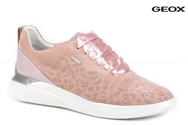 DAMSKIE SNEAKERSY GEOX THERAGON D828SC ROSE