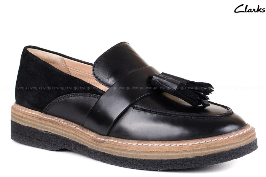 aba30aa91e3e BUTY DAMSKIE CLARKS MOKASYNY ZANTE SPRING Dobierz buty do torebki ...